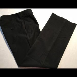 Anne Klein Womens Dress Pants Black Size 6 B030